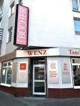 Es war einmal: Die Buchhandlung Wenz an der Ecke Dürener Straße/Lindenburger Allee in Köln-Lindenthal.