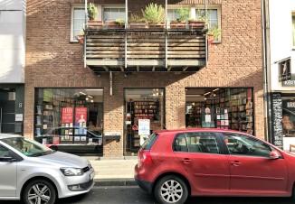 Die Buchhandlung Klaus Bittner in der Kölner Albertusstraße 6. Foto: Bücheratlas