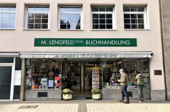 Die Lengfeld'sche Buchhandlung am Kölner Kolpingplatz 1. Foto: Bücheratlas