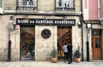 "Die Buchhandlung ""Hijos de Santiago Rodriguez""..."