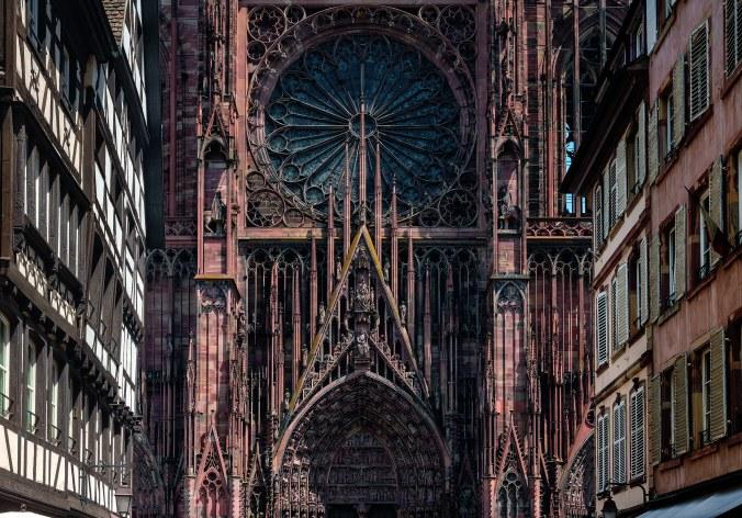 Straflburger M¸nster, CathÈdrale Notre-Dame de Strasbourg